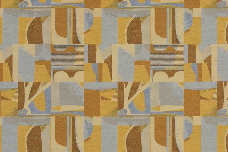 Architectonic Interior Abstract High Performance Woven Furniture Upholstery Fabric