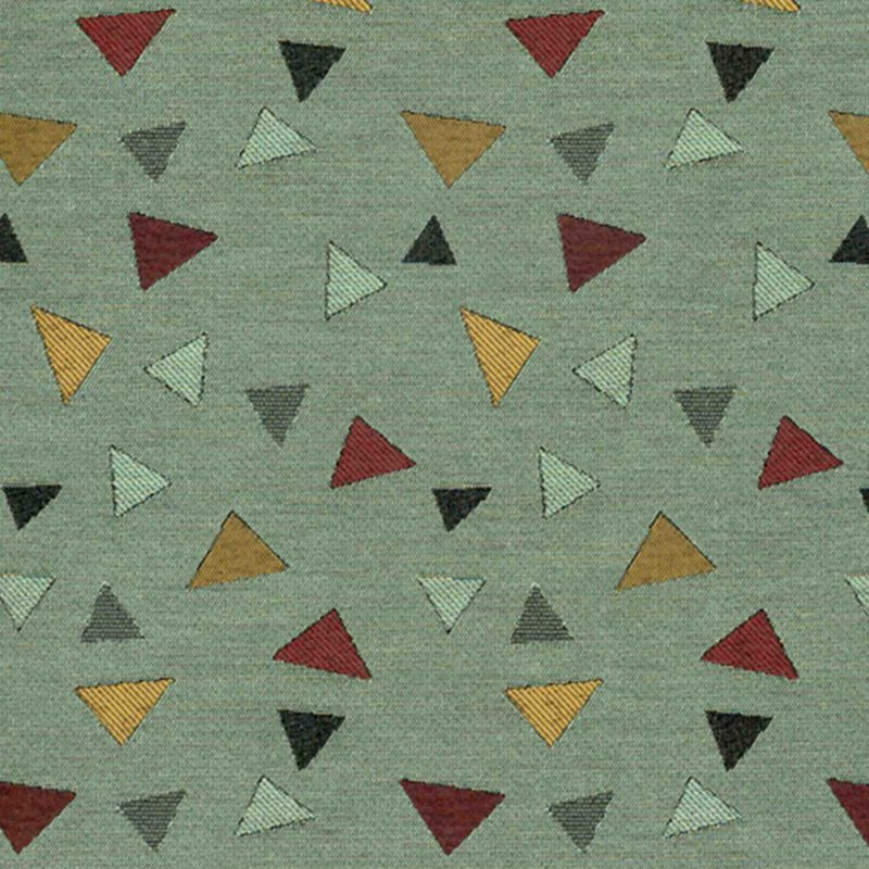 Broken Arrow Moss Woven Flat Upholstery Fabric
