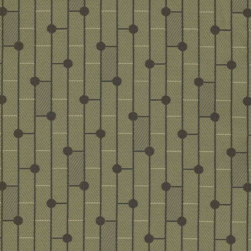 Coinage Charcoal Woven Textured Upholstery Fabric