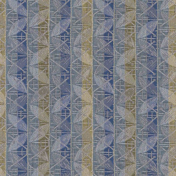 Exchange Finance Woven Striped Flat Upholstery Fabric