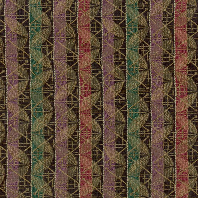 Exchange Wall Street Woven Striped Flat Upholstery Fabric