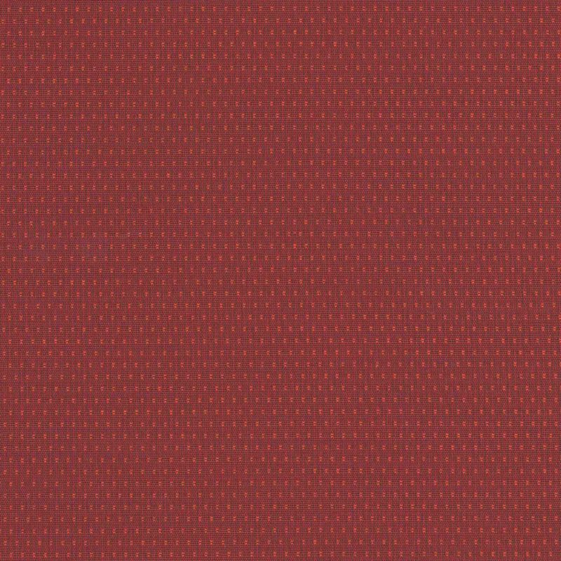 Pin Drop Chili Woven Flat Furniture Upholstery Fabric